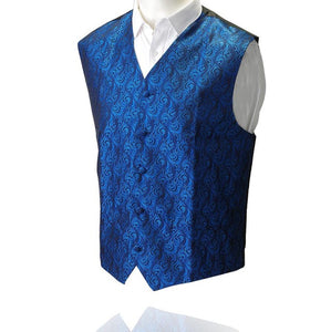 GUSLESON Quality Suit Vests For Men Slim Fit