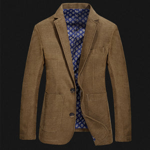 Nianjeep Brand Mens Casual/Formal Solid Color Blazer