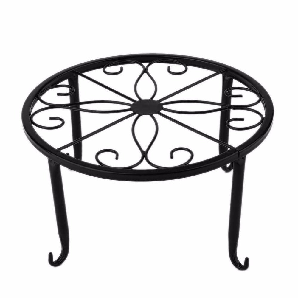 Metal European Style  Design Potted Plant Stand Sitting Room Balcony Flowerpot Shelf