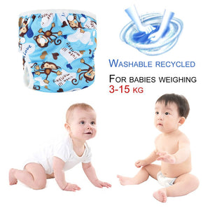Washable Baby Unisex Adjustable Swim Diaper Pool Pant Waterproof Reusable
