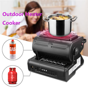 Outdoor Heater Cooker Portable Gas Stove Outdoor Accessories
