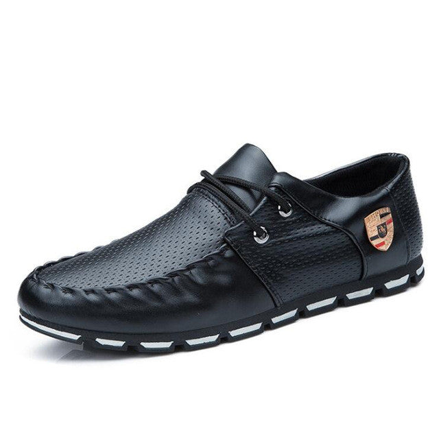 Men's PU Leather Shoes Breathable Casual