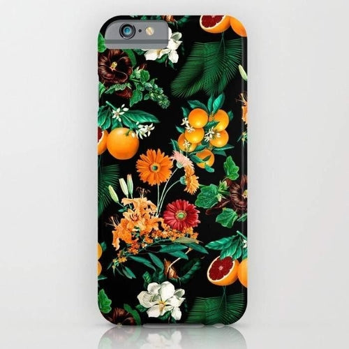 Fruit and Floral Pattern Mobile Cover