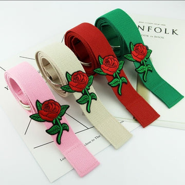 Rose Flower Belts