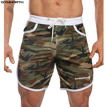 2018  Fitness Men Shorts - Camouflage