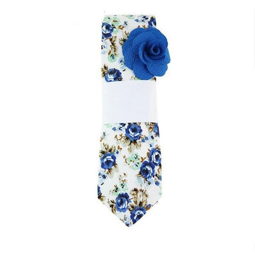 Vintage Floral Cotton Ties-NowFashionTrend.com