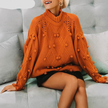 Tricot Beautiful Knitted Sweater-NowFashionTrend.com