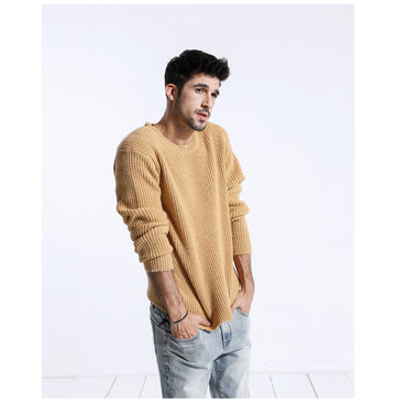 New Knitted Wool Sweater-NowFashionTrend.com