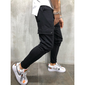 New Cotton Pocket Joggers/Sweatpants - NowFashionTrend.com