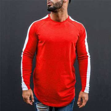 New Long Sleeve O-Neck T Shirt-NowFashionTrend.com