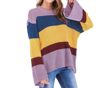 New Loose Knitted Sweater - NowFashionTrend.com