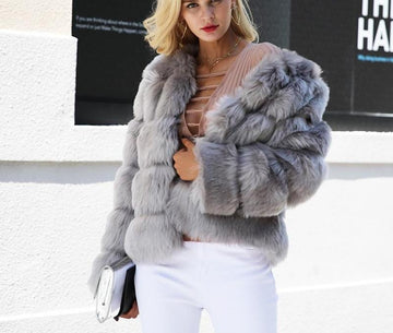 New fluffy fur coat - NowFashionTrend.com