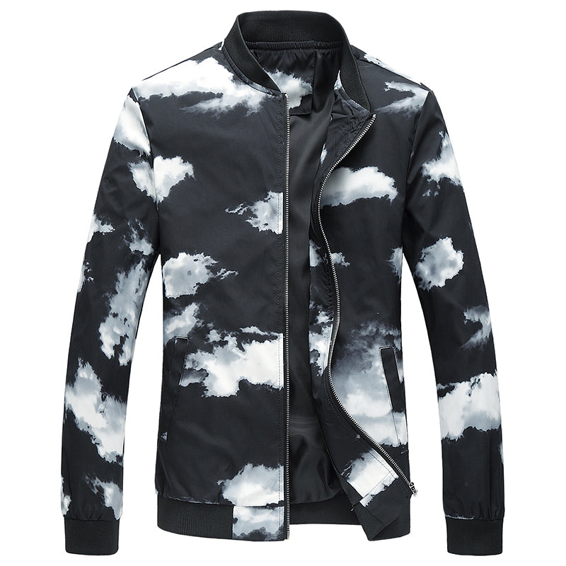 New Casual Windbreaker Printed Jackets -NowFashionTrend.com