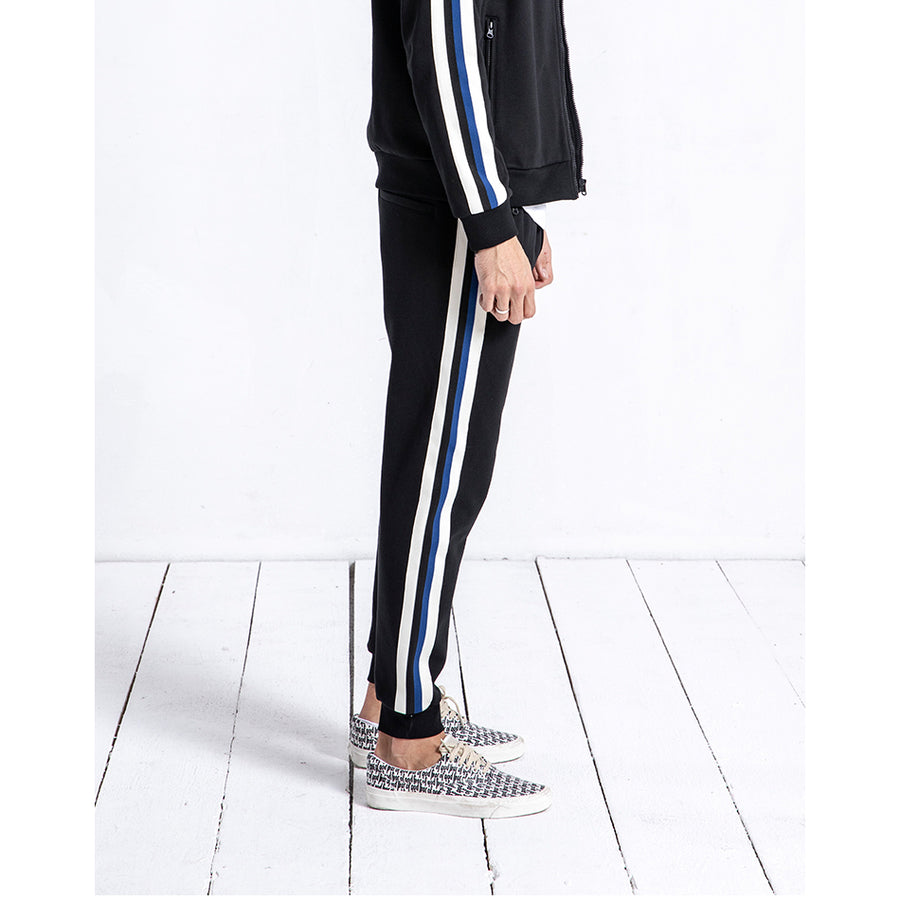 Casual Striped Thick Sweatpants