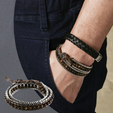 Men's New Summer Fashion Bracelet Jewelry Fashion Casual European Style Bracelet