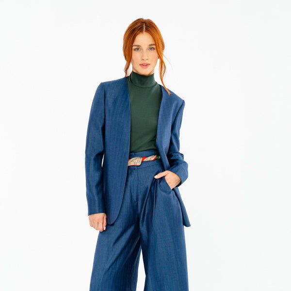 7 Ways To Slay Business Casual With Wide Leg Pants