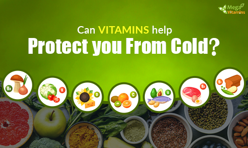 Can Vitamins help protect you from cold?