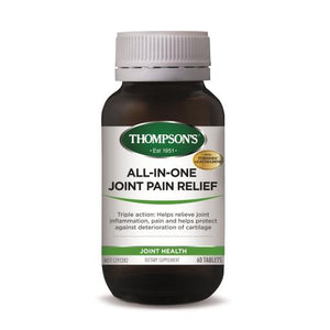 Thompson's All-In-One Joint Pain Relief 60 Tablets