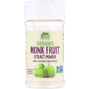Now Foods, Organic Monk Fruit Extract Powder, 0.7 oz (19.85 g)