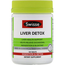 Load image into Gallery viewer, Swisse, Ultiboost, Liver Detox, 180 Tablets