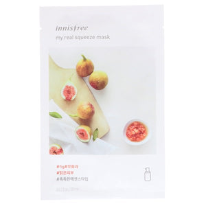 Innisfree, My Real Squeeze Mask, Fig, 1 Sheet