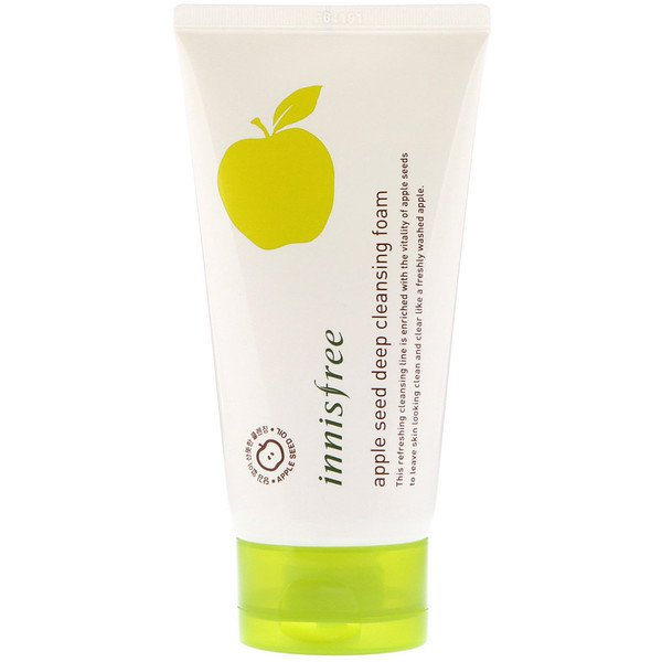 Innisfree, Apple Seed Deep Cleansing Foam, 150 ml