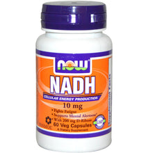 Load image into Gallery viewer, Now Foods, NADH, 10mg, 60 Vcaps