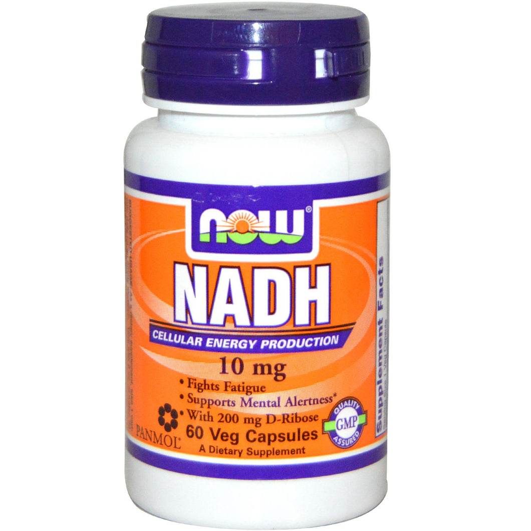 Now Foods, NADH, 10mg, 60 Vcaps