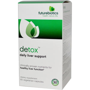 FutureBiotics, Detox, Daily Liver Support, 60 Veggie Capsules