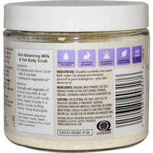 Load image into Gallery viewer, Aura Cacia Soothing Organic Milk & Oat Bath Relaxing Lavender (276g)