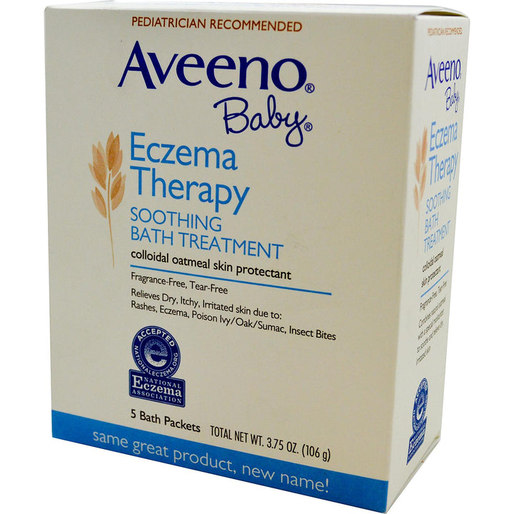 Aveeno Baby Eczema Therapy Soothing Bath Treatment 5 pkts (106gm)