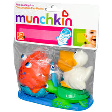 Load image into Gallery viewer, Munchkin, Five Sea Squirts 9 + Months