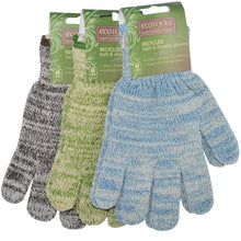Load image into Gallery viewer, Eco Tools, Recycled Bath & Shower Gloves (1pair)