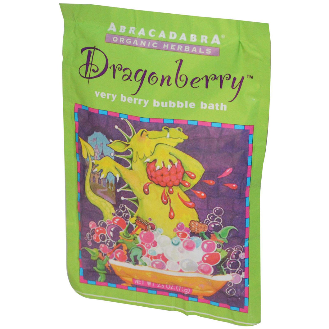 Abra Therapeutics, Dragonberry, Very Berry Bubble Bath (71g)