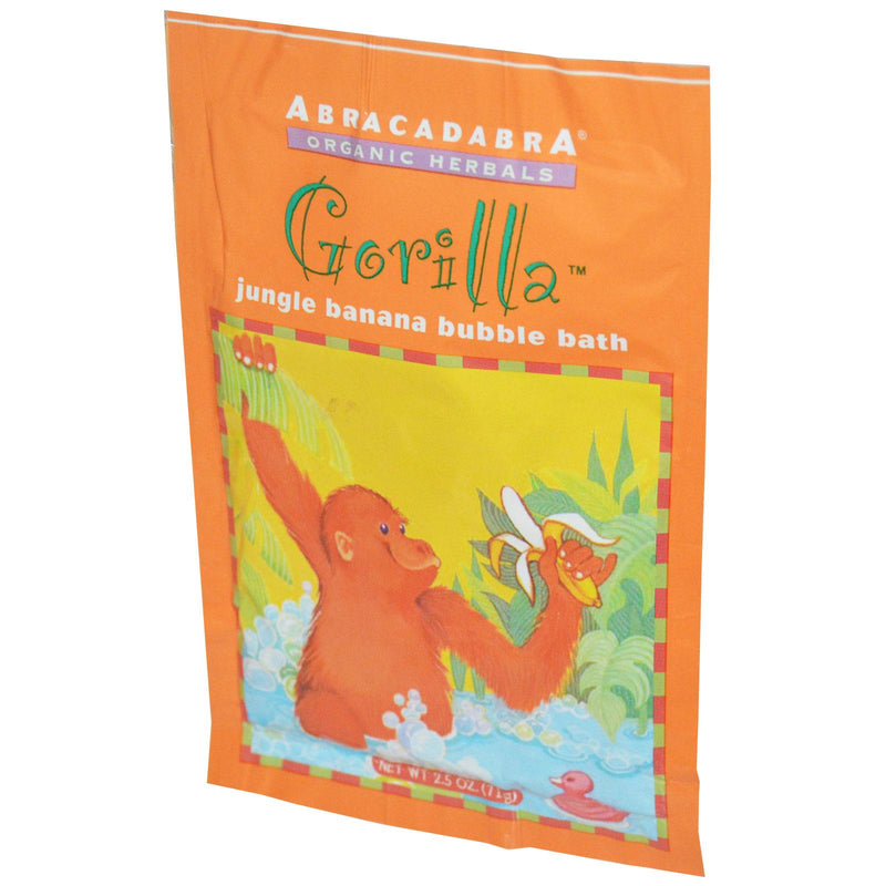 Abra Therapeutics, Gorilla Jungle Banana Bubble Bath (71g)