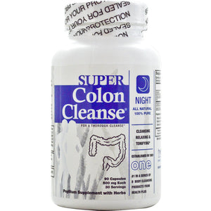 Health Plus, Super Colon Cleanse, 500 mg, 90 Capsules - Supplement