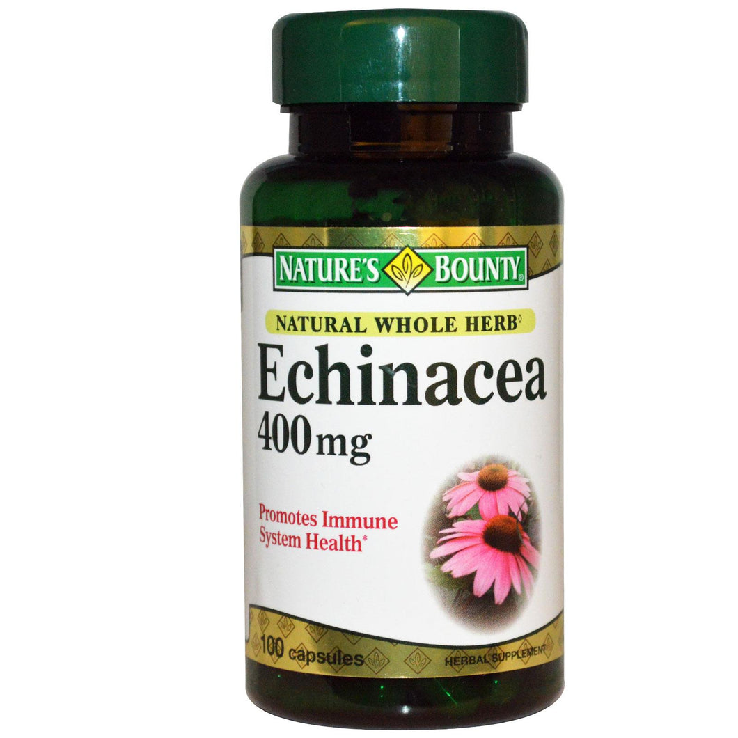 Nature's Bounty, Echinacea, 400mg, 100 Capsules