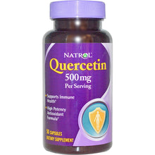 Load image into Gallery viewer, Natrol, Quercetin, 500mg, 50 Capsules, ... VOLUME DISCOUNT