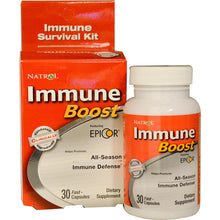 Load image into Gallery viewer, Natrol, Immune Boost, Featuring Epicor, 30 Fast-Capsules