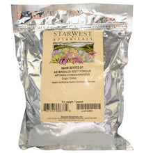 Load image into Gallery viewer, Starwest Botanicals, Astragalus Root Powder (454gm)