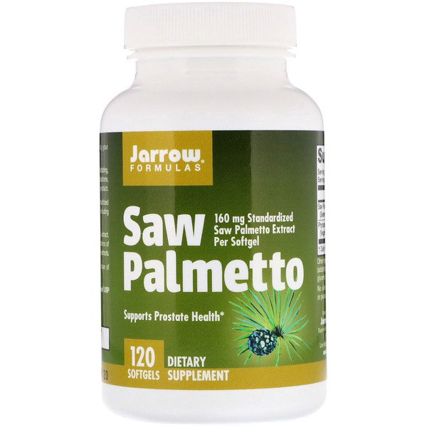 Jarrow Formulas, Saw Palmetto, 160 mg, 120 Softgels