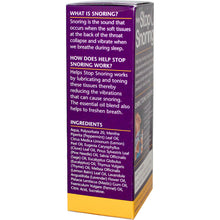 Load image into Gallery viewer, Essential Health Products, Helps Stop Snoring, Throat Spray, 59ml