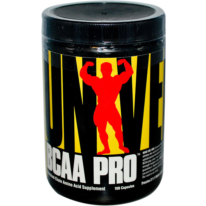 Universal Nutrition, BCAA, Branched Chain Amino Acid Supplement, 100 Capsules