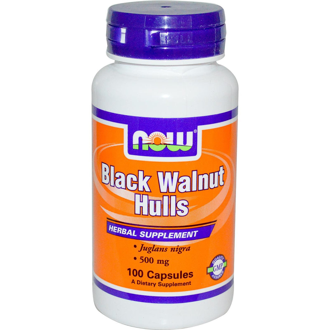 Now Foods, Black Walnut Hulls, 500mg, 100 Capsules ... VOLUME DISCOUNT