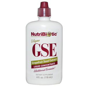 Nutribiotic GSE Grapefruit Seed Extract Liquid Concentrate 118ml