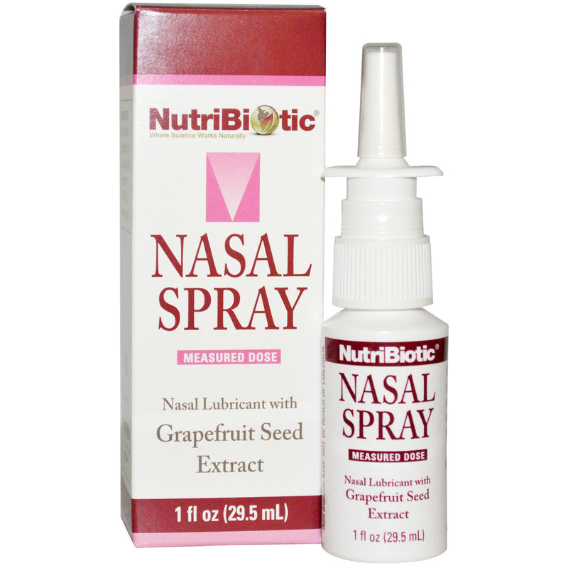 NutriBiotic Nasal Spray with Grapefruit Seed Extract 29.5ml