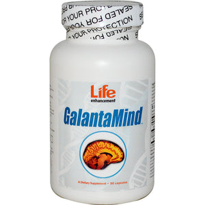 Life Enhancement, GalantaMind, 90 Capsules
