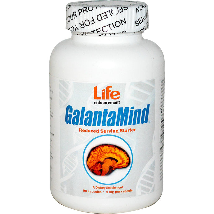 Life Enhancement, GalantaMind, Starter, 4mg, 90 Capsules