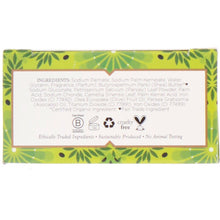 Load image into Gallery viewer, Nubian Heritage, Olive Oil & Green Tea Bar Soap, 5 oz (142 g)