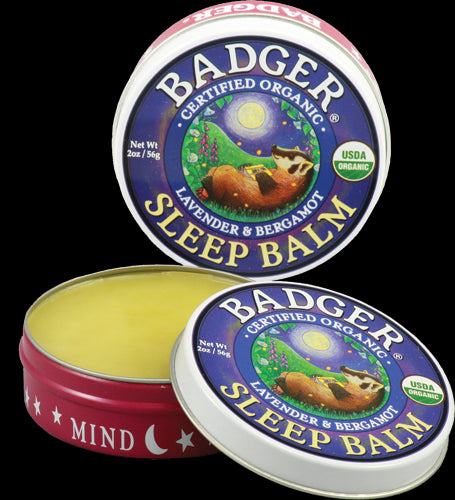 Badger Company, Sleep Balm, Lavender & Bergamot, 56 grams